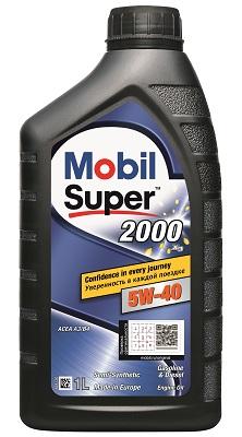 Моторное масло Mobil Super 2000 x3 5W-40