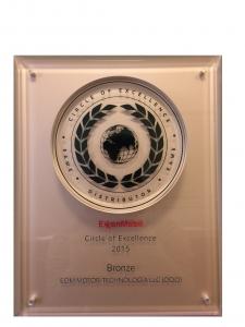 CIRCLE OF EXCELLENCE 2015 - бронзовая медаль